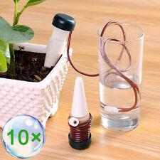 10 x Bewässerungssystem Bewässerung für Pflanzen Urlaub Wasserspender Tropfer