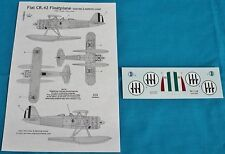 Classic Airframes 1/48 Fiat CR.42 Floatplane decals 498