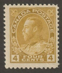 """Canada 1922 #110 King George V """"Admiral"""" Issue - Fine MH"""