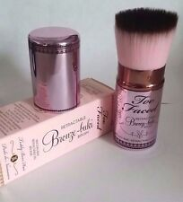 Too Faced Retractable Bronze-Buki Brush Full Size NIB