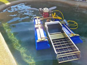 4 Inch Proline Floating gold dredge