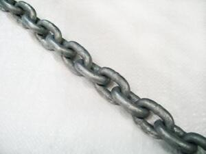 10MM, Short Link Chain, Galvanised, DIN766 - Boat / Yacht / Anchor
