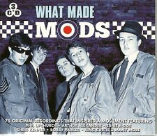 WHAT MADE MODS 3 CD BOX SET - SHRIS KENNER, BOBBY PARKER & MORE