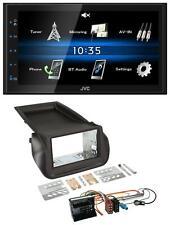 JVC 2DIN Bluetooth MP3 AUX USB Autoradio für Citroen Nemo Peugot Bipper