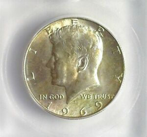 1969-D KENNEDY SILVER 50 CENTS ICG MS 66 LISTS FOR $150!!