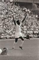 OLD LARGE PHOTO SANTOS FC BRAZIL FOOTBALL, Pele 1966