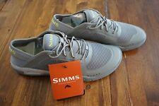 NWOT Simms Fishing Currents Shoe, Men's Size 10, Fly Fishing Water Shoe, Chartru