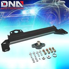 BLACK STEEL STEERING GEAR BOX STABILIZER BRACE BAR KIT FOR 94-02 RAM TRUCK 2WD
