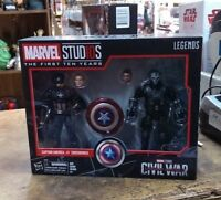 Marvel Legends Studios First Ten 10 Years Civil War - Captain America Crossbones