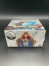 Argent Saga TCG Factory Sealed Betrayal 2.0 Booster Box Alter Reality Games ARG