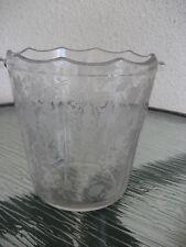 "Fantastic Cambridge Rosepoint Ice Bucket 5 3/4"" Tall No Bale"