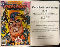 Firestorm (1986) # 45 (VF) Canadian Price Variant (CPV) !