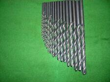 Lange Spiralbohrer HSS DIN 340/RN    Satz    17 Stück   2,0 - 10,0 mm x 0,5 mm