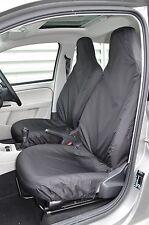 Volkswagen VW oben 2012 + Passform & wasserdicht vorne Schwarz Sitzbezüge