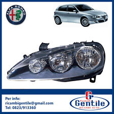 Alfa Romeo 147 2004 FARO PROIETTORE H1-H7 REGOLAZIONE ELETTRICA SINISTRO