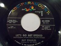 Ray Charles Let's Go Get Stoned / The Train 45 ABC Paramount Vinyl Record