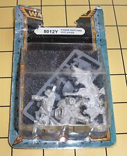 40k Rare oop Blister Vintage Metal Chaos Space Marine Raptor w/ Flamer NIB