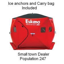 ESKIMO QUICKFISH 5i INSULATED PORTABLE ICE SHELTER SHANTY FISHING HOUSE FISH MAN