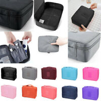 Expandable Ladies Mens Wash Bag Travel Toilet Bag Toiletries Makeup Bag Zipper