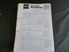 Original Service Manual Grundig Music Boy 1100
