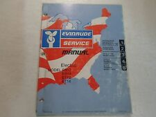 1976 Evinrude Service Shop Manual Electric EB12 EB14 ET12 ET14 FADED STAINED 76