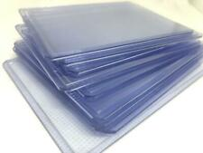 10pcs Pro Toploader Hard Plastic Sleeves darkblue clear Trading Cards Protector