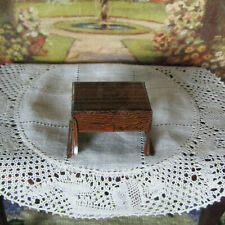 Antique 20s MARX NEWLYWEDS TABLE FURNITURE Tin Litho Dollhouse KITCHEN / DINING