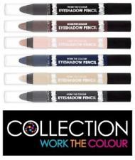 Collection 2000 WORK THE COLOUR Eyeshadow Pencil Crayon Brown Black Blue Cream