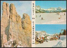 AA0926 Trento - Provincia - Val di Fassa - Saluti da Ciampedie - Vedute