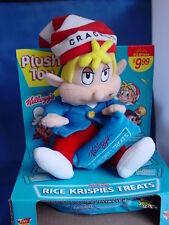 Rice Krispies Treats Advertising Plush Doll - Crackle- by Kellogg, 1999