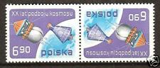 POLAND#2248 VOSTOK USSR & MERCURY USA SPACE EXPLORATION