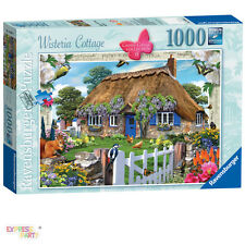 COUNTRY COTTAGE WISTERIA COTTAGE 1000 PIECE RAVENSBURGER JIGSAW
