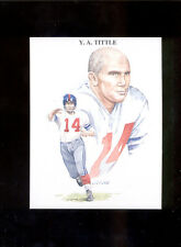 1989 TV-4 Y. A. TITTLE New York Giants Rare Card Mint