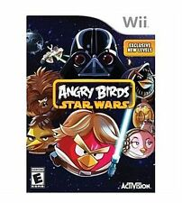 Angry Birds Star Wars WII NEW! JEDI MASTER, FORCE GALAXY, LIGHTSABER FAMILY GAME