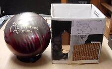 =15#1oz Former Display w/o Original Box Brunswick C System ulti-max Bowling Ball