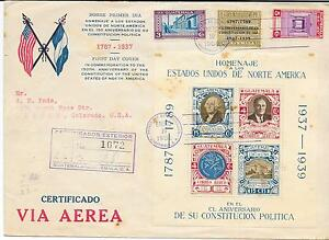 Guatemala: 1938; Cover with S.S. Honoring to Usa, President Roosvelt EBG052