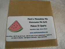 Mark's Moonshine Watermelon Mix Refill Makes 10 Qts Make Your Own! WONDERFUL!!