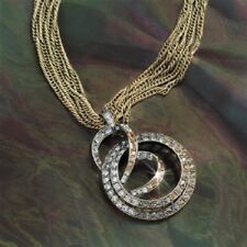SWEET ROMANCE ART DECO SLINKY SPIRAL NECKLACE ~~MADE IN USA