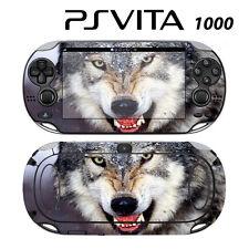 Sony PS Vita PSV 1000 Skin Decal Sticker Vinyl Wrap Wolf