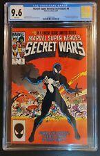 Marvel Super Heroes Secret Wars #8 CGC 9.6 white P 1984 1st Appearance Venom