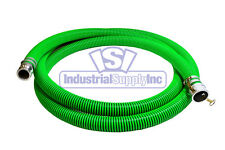 "1-1/2"" x 20' EPDM Rubber Water Trash Pump Suction Hose Mud"