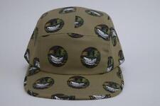 RON ENGLISH CAMO GRIN 5 PANEL ADJUSTABLE CAMPER CAP TAN POPAGANDA HAT