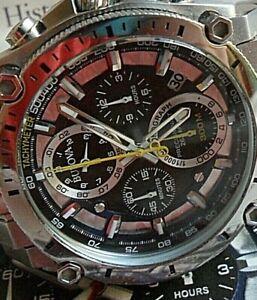 Men's Bulova Precisionist 262kHz Ultra High Frequency Chronograph Watch 98B175