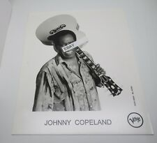 Johnny Clyde Copeland Promotional Photograph Texas Blues Singer
