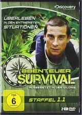 Bear Grylls ABENTEUER SURVIVAL  Ausgesetzt in der Wildnis 2 DVD Box 1.1