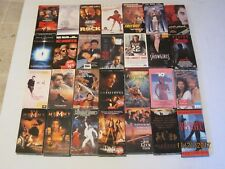 Large VHS lot 28 total action drama some sealed