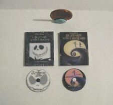 2 x DOLLHOUSE BARBIE MINIATURE DVDS DVD'S DVD NIGHTMARE BEFORE CHRISTMAS 1:6