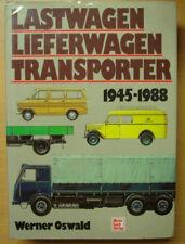 Lastwagen Lieferwagen Transporter 1945-1988 Geschichte Modelle Typen Buch