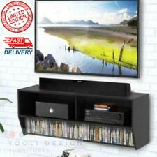 Wall TV Stand Cabinet Mount Media Center Shelf Floating Entertainment Console