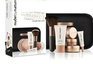 NEW Nude By Nature Complexion Essentials Starter Kit- Light Medium